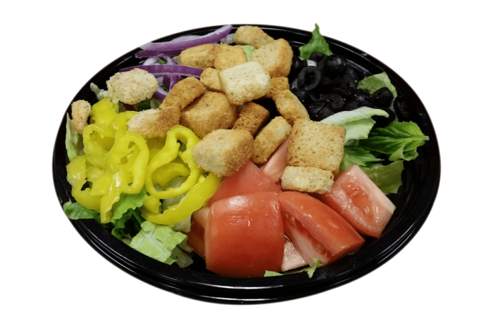 Plate of Garden Salad at PLP