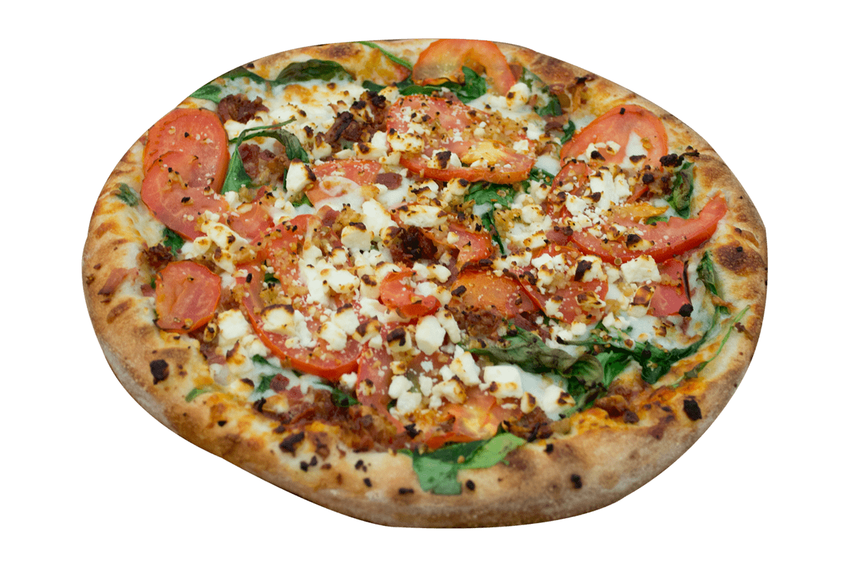 Spicy Roasted Groovylicious Pizza