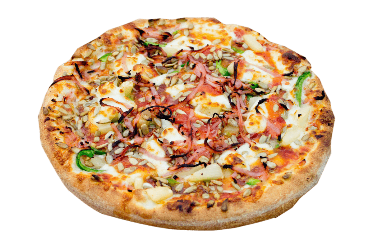 Delicious Mavi Wavi Pizza
