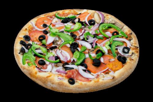 Plain Jane Veggies Pizza