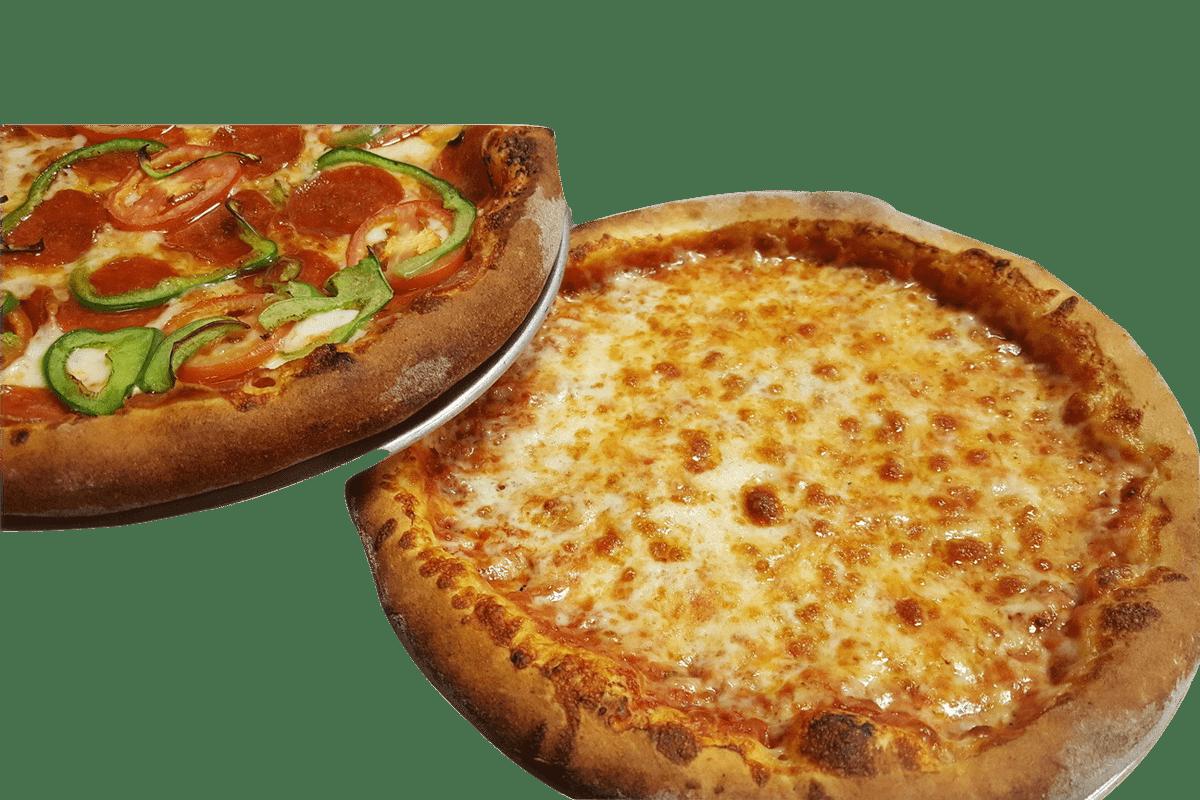 Traditional Pizza Sauce and Mozzarella Cheese