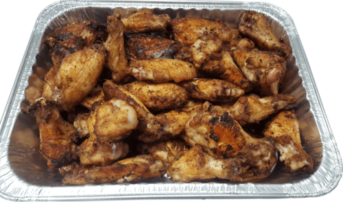 50 Buffalove Wings Half Pan