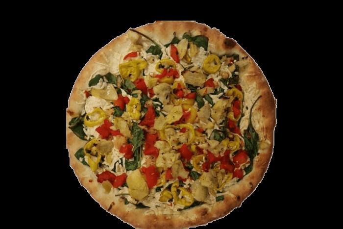 Delicious Peaceful Garden Pizza at PLP