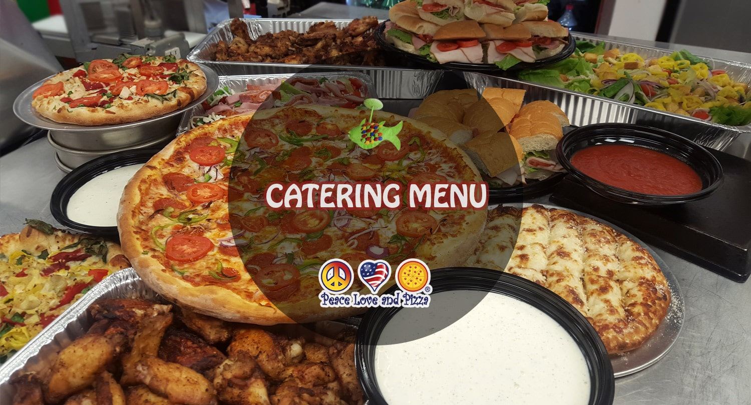 PLP Catering Menu Prices - Just Pizza, Groovy Eats