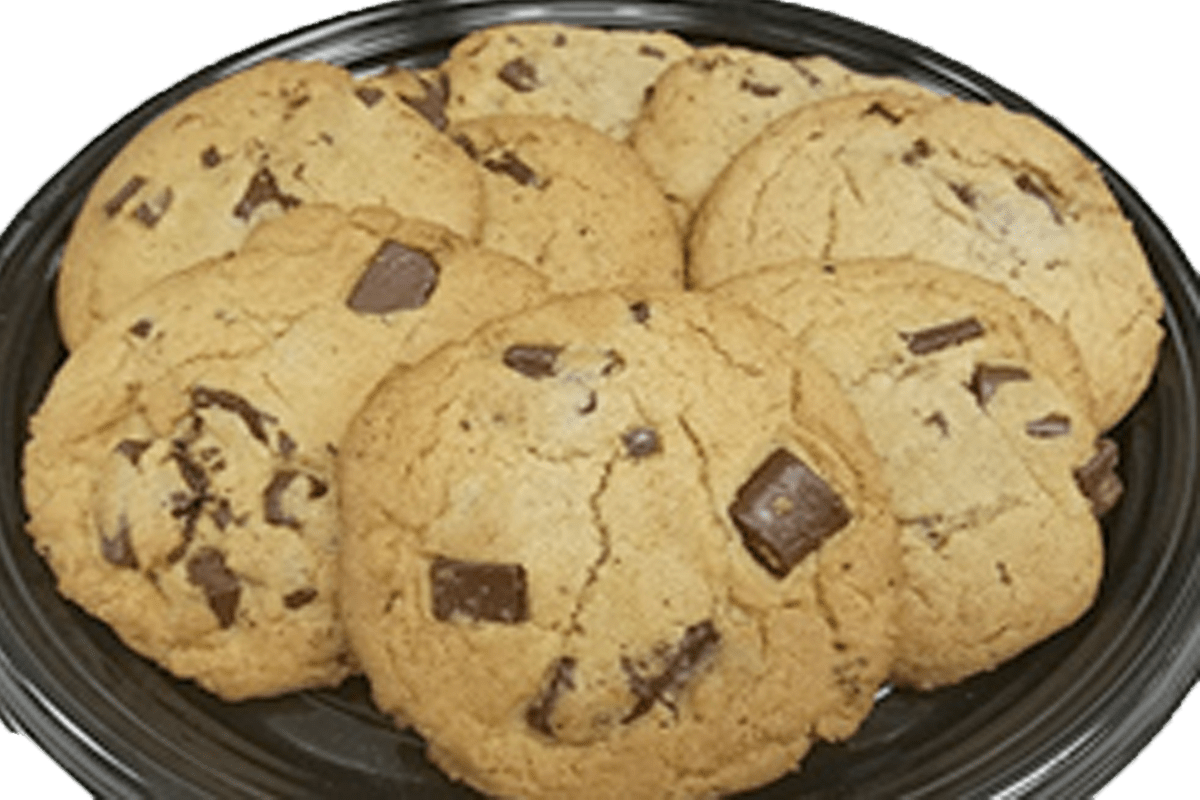 15 Cookies with Small Tray
