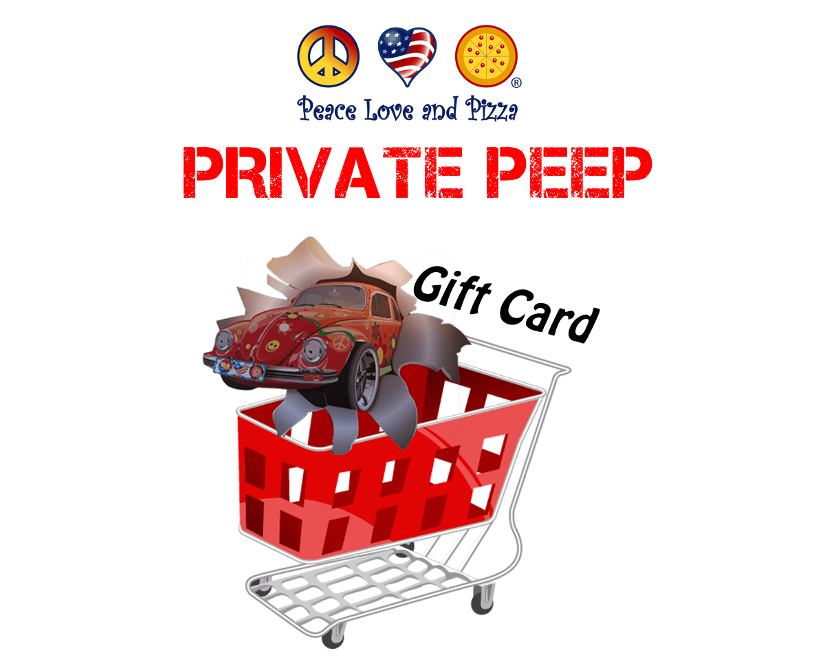 Private Peep Gift Card - PLP